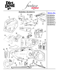 Service Manual DirtDevil SD30040PI