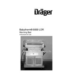 Руководство пользователя Dräger Babytherm® 8000 LDR