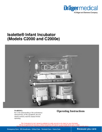 Service Manual Dräger Isolette C2000e