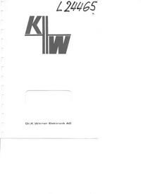 Servicio y Manual del usuario DrKWitmerElectronic IC Triple Z