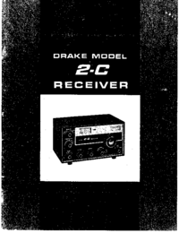 Service and User Manual Drake 2-C