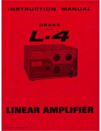 Service and User Manual Drake L-4