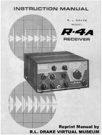 Serviço e Manual do Usuário Drake R-4A