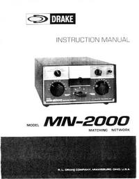 Manual de servicio Drake MN-2000