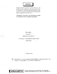 Gebruikershandleiding Dranetz 626
