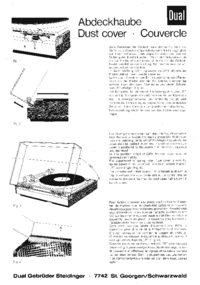 Manual del usuario Dual Dust Cover