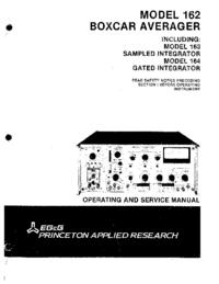 Serviceanleitung EGG 164