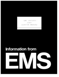 Servicehandboek EMS EMS Vocoder 2000