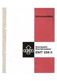 Servizio e manuale utente EMT EMT 256 II