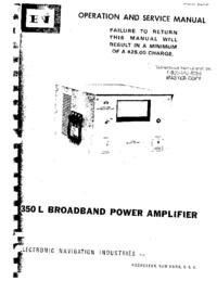 Instrukcja obsługi ENI 350L