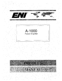 Manual del usuario ENI A-1000