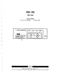 Manual del usuario ESI 5300
