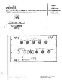 Manual do Usuário ESI 707B
