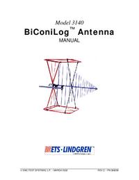User Manual ETS 3140