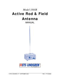 Manuale d'uso ETS 3301