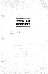 Servicio y Manual del usuario Eddyston 358
