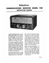 Servizio e manuale utente Eddyston 940