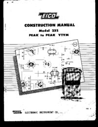 Serviço e Manual do Usuário Eico 232