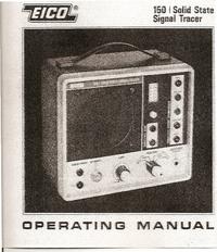 Service- und Bedienungsanleitung Eico 150
