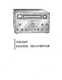 Service- und Bedienungsanleitung Eldico SSB-100F