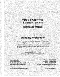 Instrukcja obsługi Electrodata TTS 3