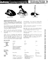 Manuale d'uso ElektroVoice 420