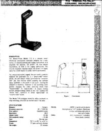 Manuale d'uso ElektroVoice 719