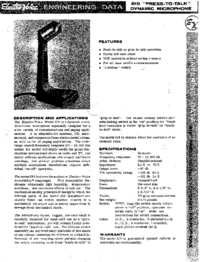 Manual del usuario ElektroVoice 619