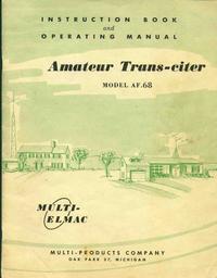 Servicio y Manual del usuario Elmac AF-68
