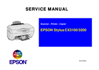 Service Manual Epson Stylus CX3100