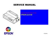 manuel de réparation Epson LQ-2180