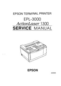 Service Manual Epson EPL-3000