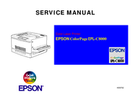Serviceanleitung Epson ColorPageEPL-C8000