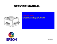 Instrukcja serwisowa Epson ColorPage EPL-C8200