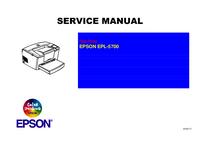 manuel de réparation Epson EPL-5700