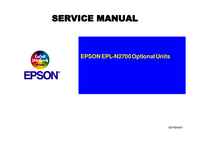 Service Manual Epson N2700 Optional Units