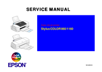 Manual de servicio Epson COLOR 860