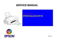 manuel de réparation Epson Stylus COLOR 760
