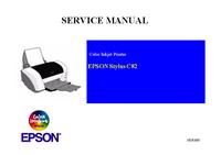 Service Manual Epson Stylus C82
