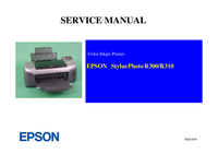 Service Manual Epson Stylus Photo R310