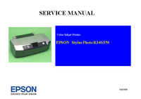 Service Manual Epson Stylus Photo R350