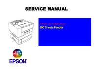 Manual de servicio Epson EPL-N1600 Option 500 Sheets Feeder