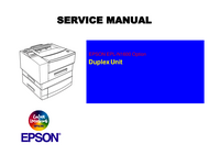 Serviceanleitung Epson EPL-N1600 Option Duplex Unit