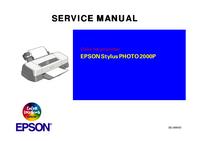 Manual de serviço Epson Stylus PHOTO 2000P
