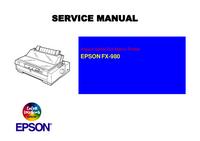 Manuale di servizio Epson FX-980