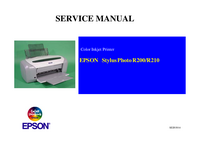 Service Manual Epson Stylus Photo R200