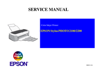 Manual de servicio Epson Stylus Photo 2200