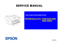 Manuale di servizio Epson Stylus Pro 4800