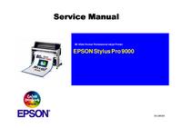 Manuale di servizio Epson Stylus Pro 9000