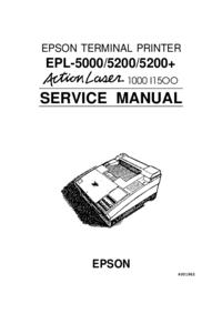 manuel de réparation Epson Action Laser 1500
